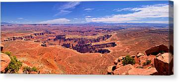 Grand View Panorama Canvas Print by Greg Norrell
