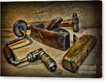 Grandfathers Tools Canvas Print by Paul Ward