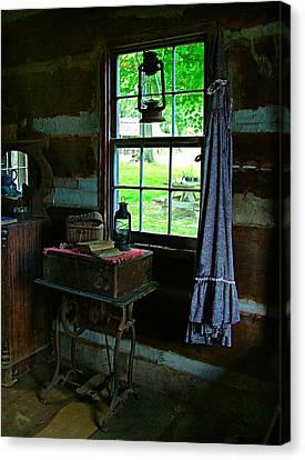 Grandma's Things Canvas Print by Julie Dant