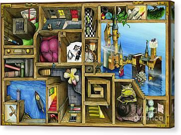 Grandma's Treasure Canvas Print by Colin Thompson