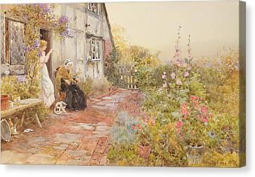 Grandmother Canvas Print by Thomas James Lloyd
