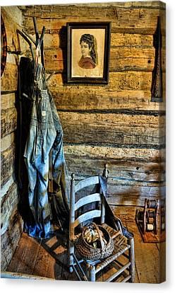 Grandpa's Closet Canvas Print by Jan Amiss Photography