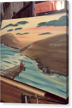 Grandpa's  Passion  Canvas Print by Renee McKnight