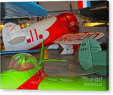 Granville Brothers Gee Bee R-1 Racer Canvas Print by Gregory Dyer