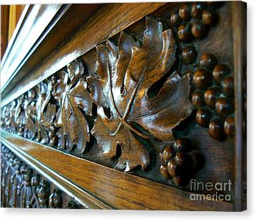 Medieval Art Carving Canvas Print by France Art
