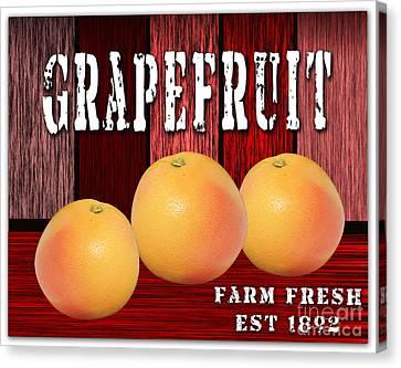 Grapefruit Farm Canvas Print by Marvin Blaine