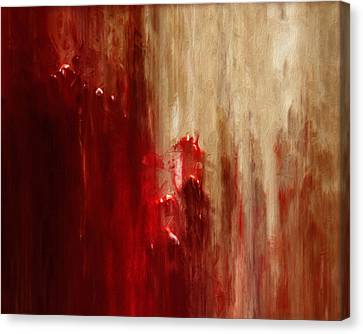 Grasping Canvas Print by Jack Zulli