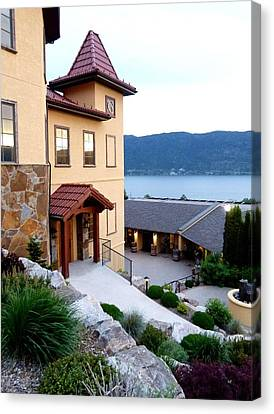 Gray Monk Winery Canvas Print by Will Borden