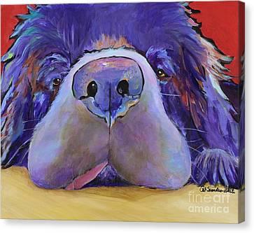 Graysea Canvas Print by Pat Saunders-White