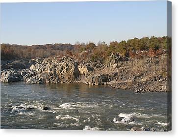 Great Falls Va - 121242 Canvas Print by DC Photographer