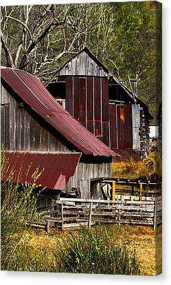 Great Grandpa's Place Canvas Print by Debra and Dave Vanderlaan