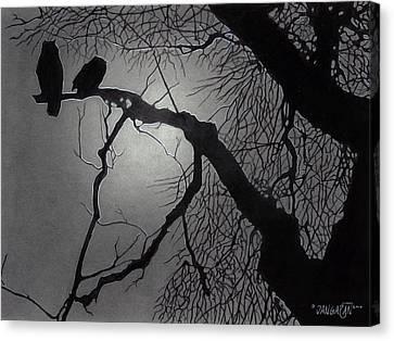 Great Horned Owl Canvas Print by Tim Dangaran