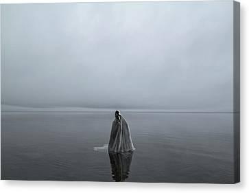 Great Lake Ghost Canvas Print by Matt Molloy