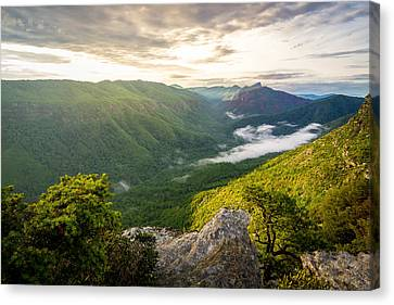 Great Linville Gorge Canvas Print by Serge Skiba