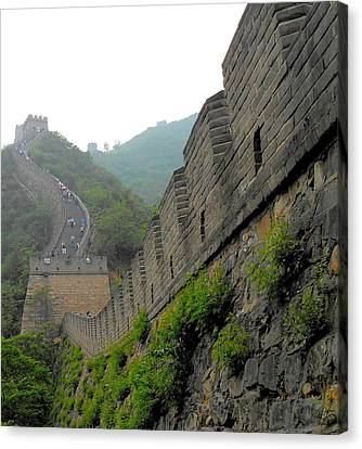 Great Wall 1 Canvas Print by Kay Gilley