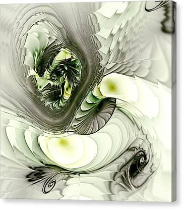 Green Dragon Canvas Print by Anastasiya Malakhova