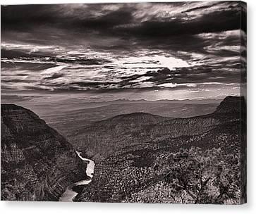 Green River Canyon Canvas Print by Joshua House