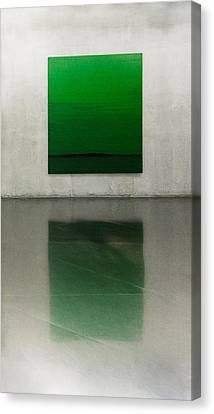 Green Canvas Print by Toni Guerra
