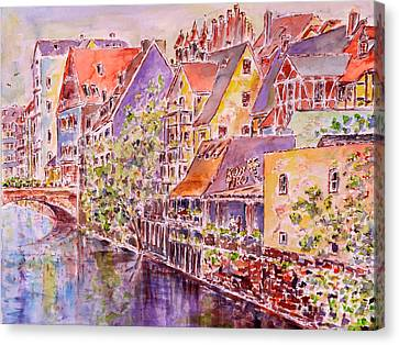 Greetings From Nuremberg Canvas Print by Alfred Motzer