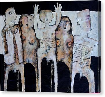 Grego No.3 Canvas Print by Mark M  Mellon