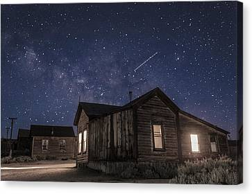 Gregory House Canvas Print by Cat Connor