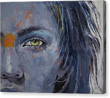 Grey Canvas Print by Michael Creese