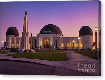 Griffith Observatory Canvas Print by Eddie Yerkish