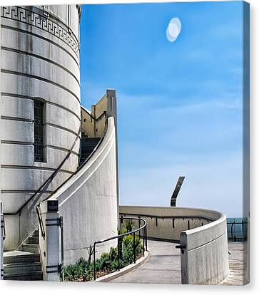Griffith Stairs Canvas Print by Camille Lopez