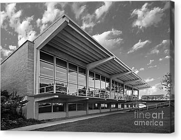Grinnell College Burling Library Canvas Print by University Icons