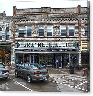 Grinnell Iowa - Downtown - 06 Canvas Print by Gregory Dyer