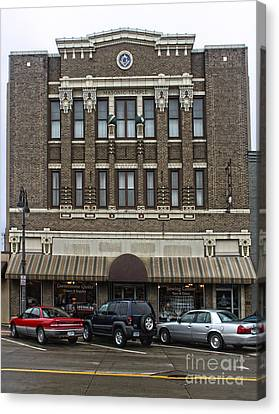 Grinnell Iowa - Masonic Temple -02 Canvas Print by Gregory Dyer