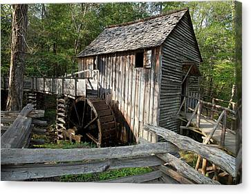 Grist Mill Canvas Print by Jim West