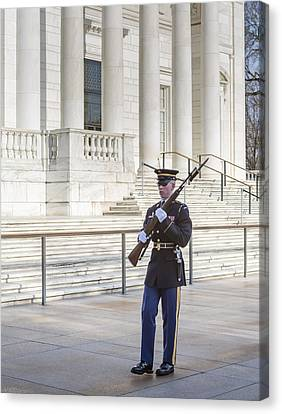 Guard Of Honor Canvas Print by Susan Candelario