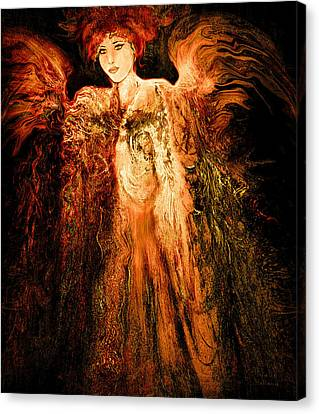 Guardian Angel Canvas Print by Natalie Holland