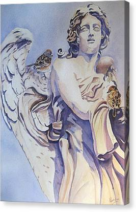 Guardian Angel Canvas Print by Patricia Pushaw