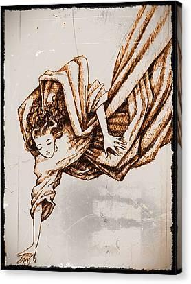 Guardian Angel Canvas Print by Paulo Zerbato