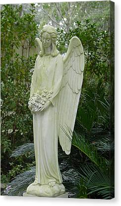 Guardian Angel Canvas Print by Suzanne Gaff