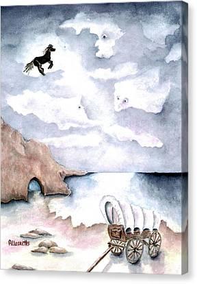Guardians Canvas Print by Pamela Allegretto