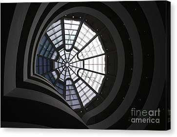 Guggenheim Interior Canvas Print by David Bearden