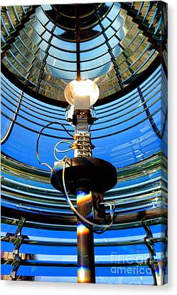Guiding Light Canvas Print by Olivier Le Queinec