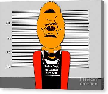 Guilty Ape Canvas Print by Marvin Blaine