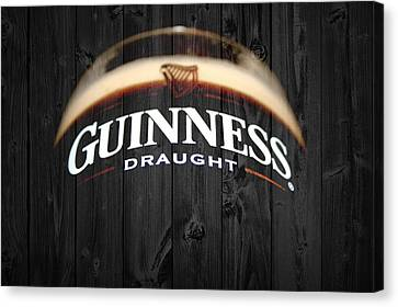 Guinness Canvas Print by Dan Sproul