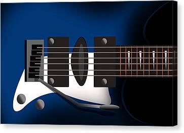 Guitar 3 Canvas Print by Mark Ashkenazi