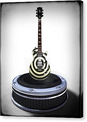 Guitar Desplay V2 Canvas Print by Frederico Borges