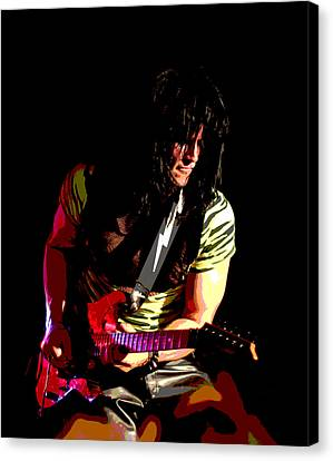 Guitar Shred Canvas Print by James Hammen