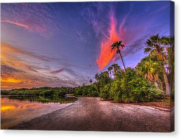 Gulf Breezes Canvas Print by Marvin Spates