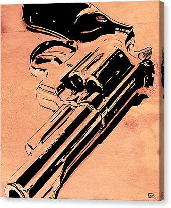 Gun Number 6 Canvas Print by Giuseppe Cristiano