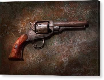 Gun - Police - Dance For Me Canvas Print by Mike Savad