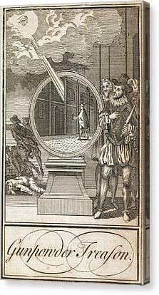 Gunpowder Treason Canvas Print by British Library