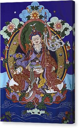 Guru Rinpoche Canvas Print by Leslie Rinchen-Wongmo